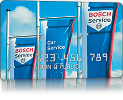 Bosch Credit Card Auto Repair Financing