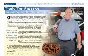 Virginia Auto Service Named Phoenix Chamber of Commerce Impact Business of the Year in Response to Adversity.