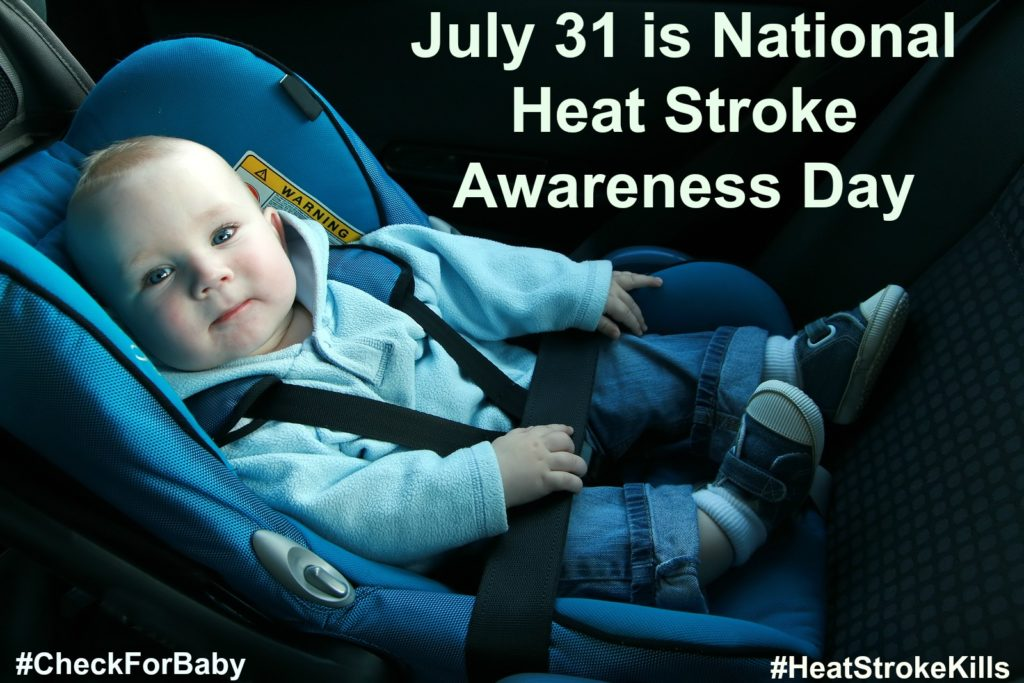 July 31 is National Heat Stroke Awareness Day