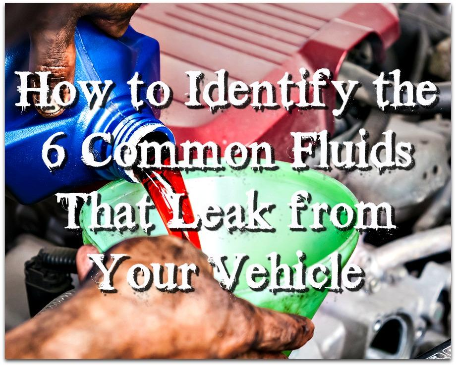 Virginia Auto Service AZ Blog: How to Identify the 6 Common Fluids That Leak from Your Vehicle