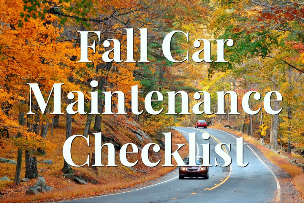 Virginia Auto Service AZ Blog: Fall Car Maintenance Checklist