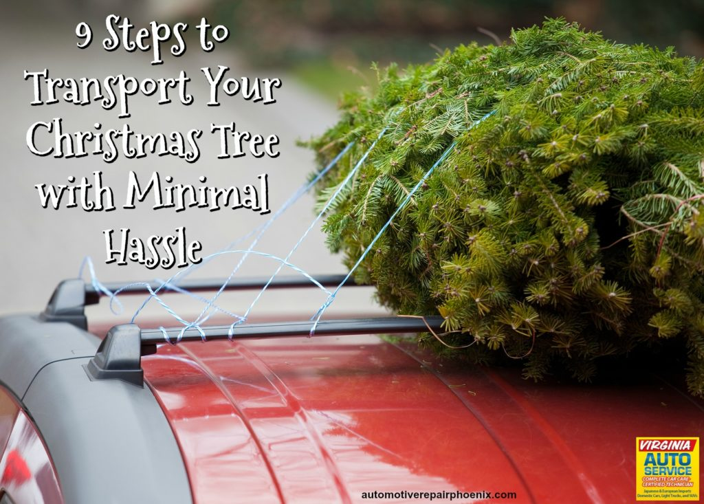 Virginia Auto Service AZ Blog: 9 Steps to Transport Your Christmas Tree with Minimal Hassle