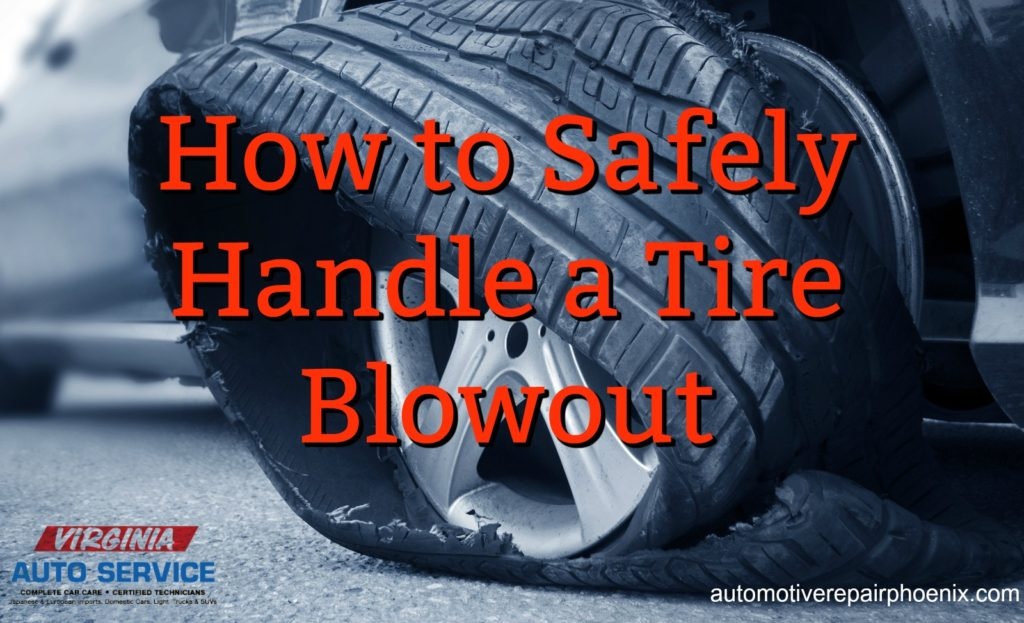 How to Safely Handle a Tire Blowout  Auto Services Auto Repair